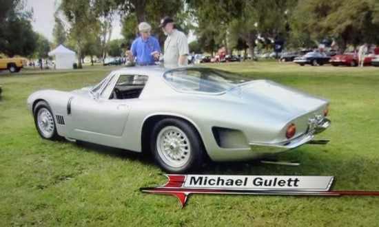 Dennis Gage, Mike Gulett and  the Bizzarrini GT 5300 Strada on Speed TV