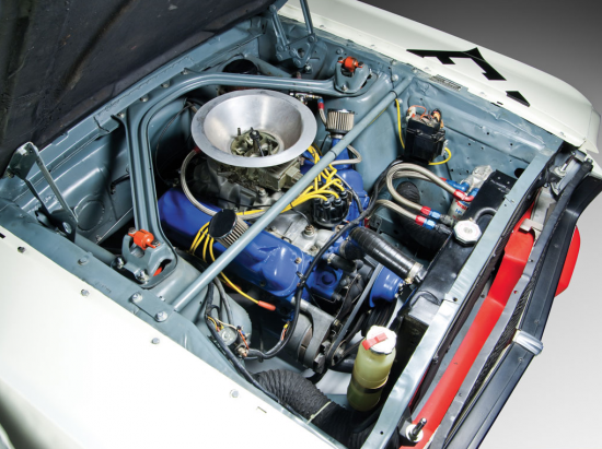 1965 Shelby Mustang GT350 R engine