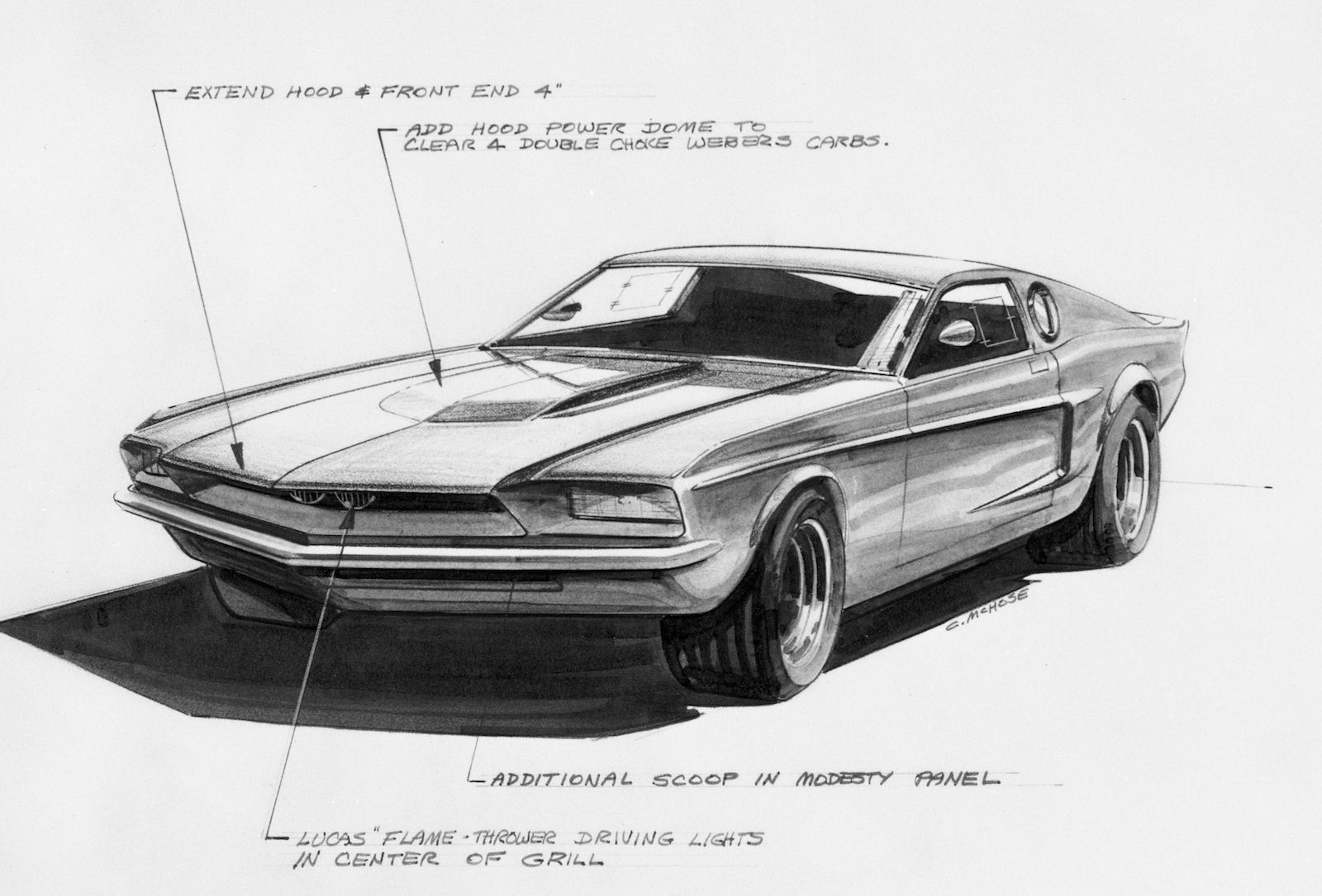 The 1967 Ford Mach I Mustang:  Where Racing Influenced The Breed (Even If Only The Prototype)