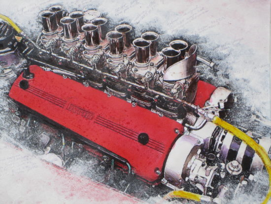 Engine art by Wallace Wyss