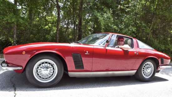 Martyn Schorr and Iso Grifo No. 047