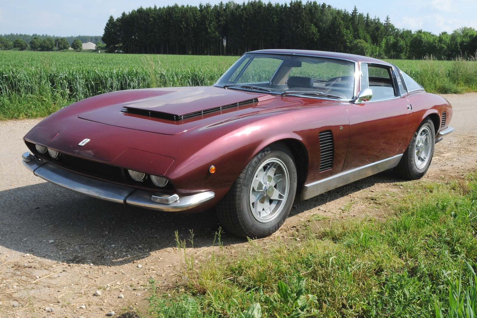 The Iso Grifo Can Am Model Is Very Rare Indeed