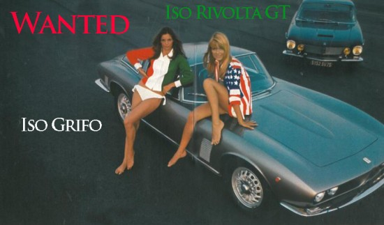 Iso Grifo and Iso Rivolta GT