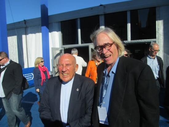 Sir Stirling Moss and Wallace Wyss