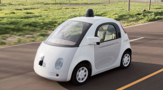 Google self-driven car - Source: Google
