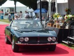 Iso Grifo on the podium