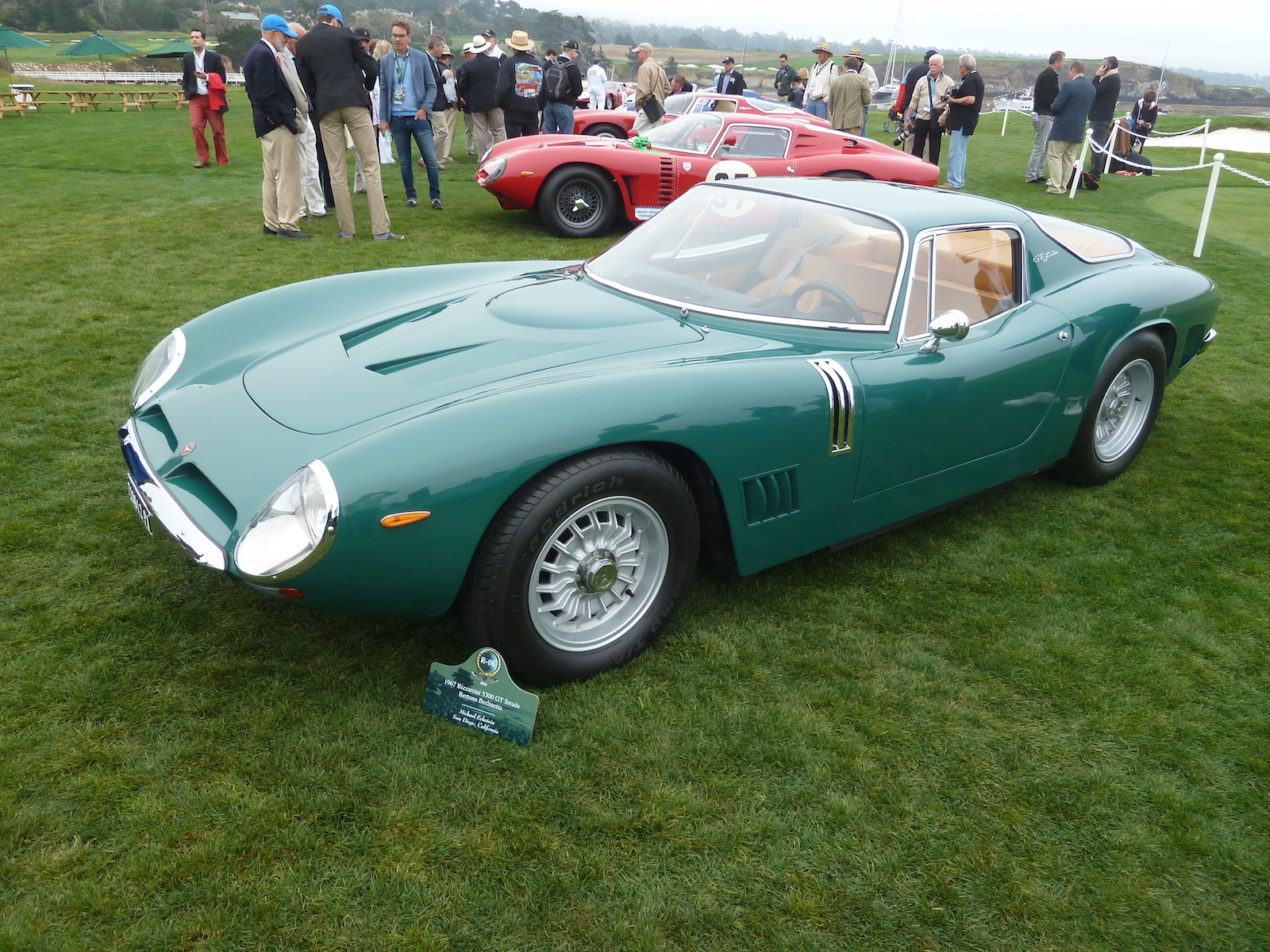 The Bizzarrini Class At Pebble Beach Was Awesome - Part 1