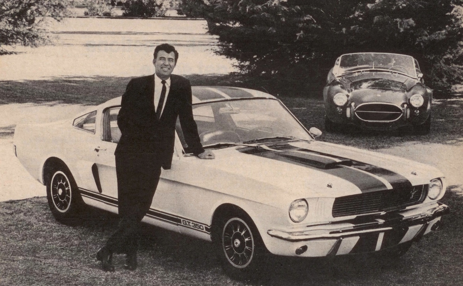 The 1966 Shelby GT350 – This Would Be A Cool Car To Own
