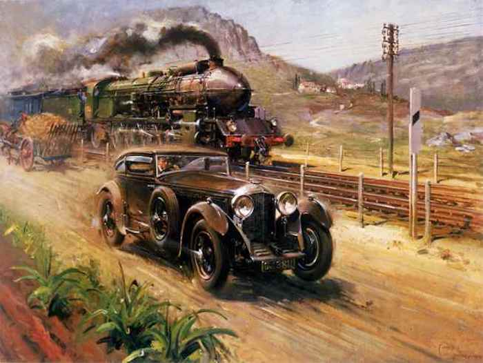 Pebble Beach News: The Real Blue Train Bentley to Make an Appearance This Year