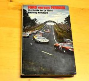 Ford Vs. Ferrari - first edition hard to find, doesn't cover '68 and '69